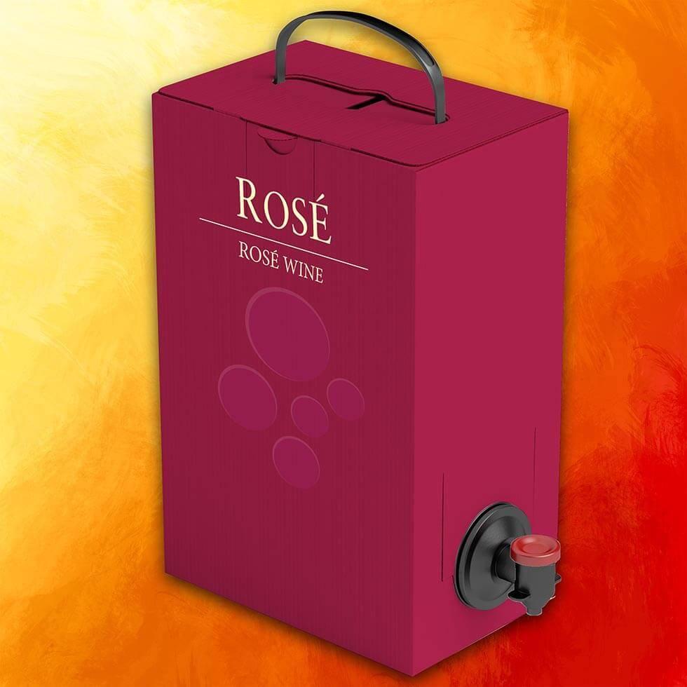 Minervois Wine Box Rose Shop