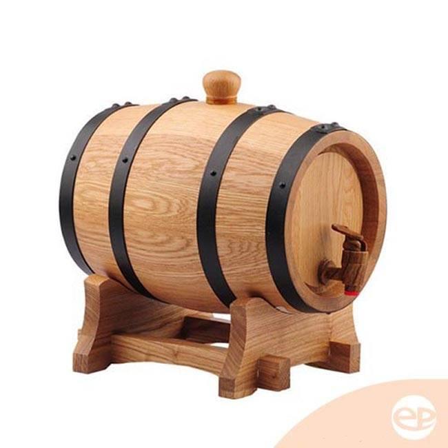 Bom đựng rượu bằng gỗ