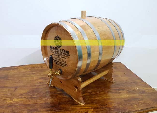 Bom rượu gỗ sồi 100 lít