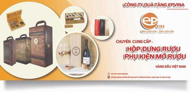 Epvina cung cấp phụ kiện rượu hàng đầu Việt Nam