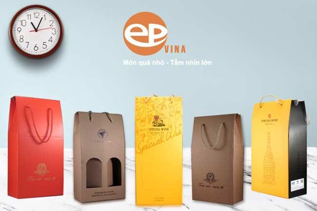 Epvina luôn là công ty in túi giấy đựng rượu hàng đầu