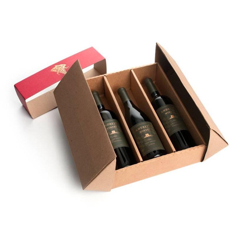 hộp đựng rượu vang 3 chai