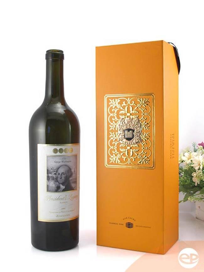 Hộp rượu vang bằng giấy gọn nhẹ