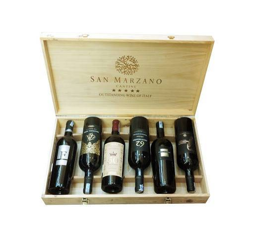 Gỗ thông được dùng nhiều nhất để làm hộp đựng rượu