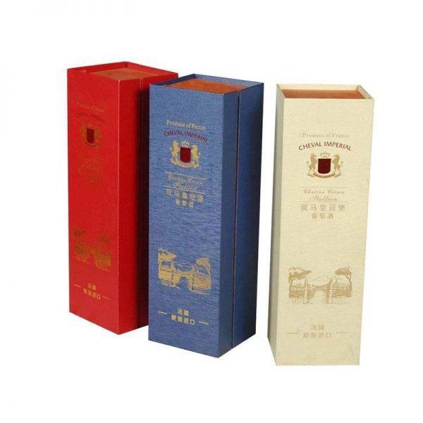Hộp giấy đựng rượu là món quà tặng ý nghĩa