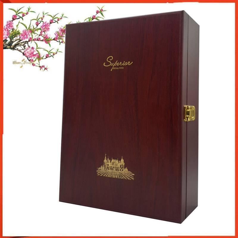 Hộp gỗ sơn mài cao cấp thích hợp để làm quà tặng hoặc trang trí