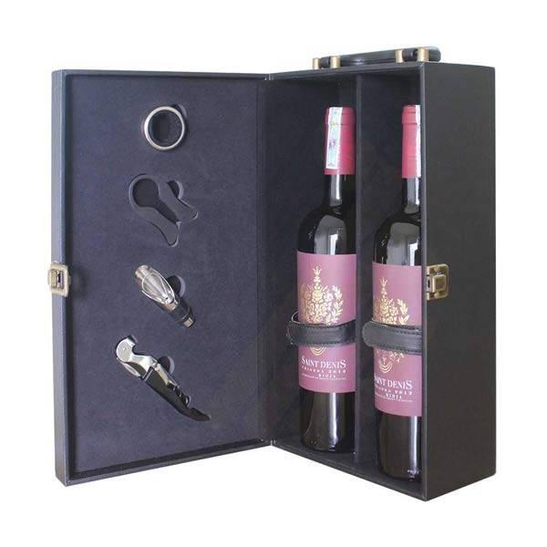 Mẫu hộp đựng rượu classical Wine