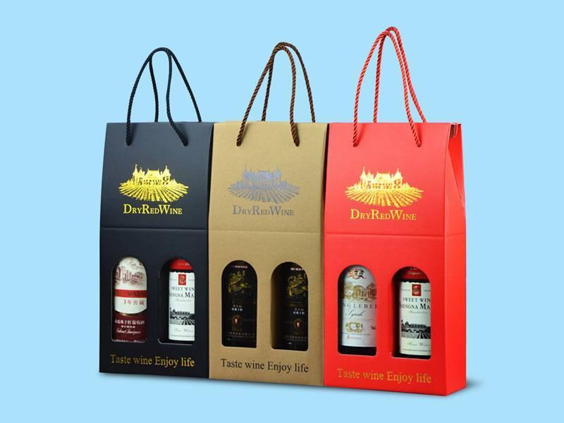 Mẫu túi đựng rượu đôi tiện lợi