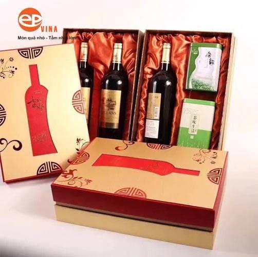 Mua hộp quà rượu vang tại Công ty quà tặng EPVINA