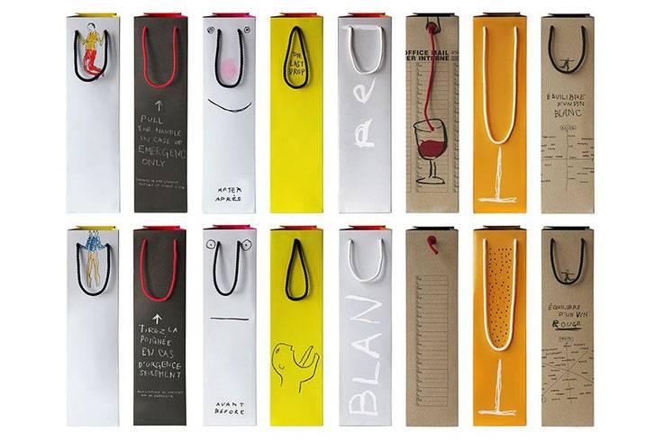 Rượu vang có rất nhiều mẫu túi đựng thích hợp