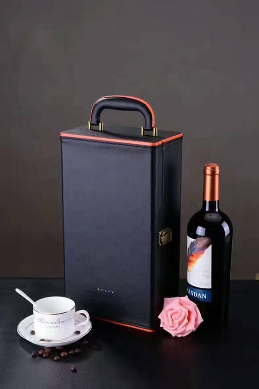 Thiết kế nổi bật, sang trọng của hộp rượu da