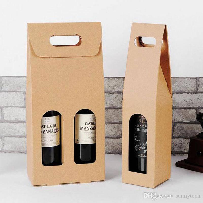 Túi giấy đựng rượu kraft nâu đang được sử dụng khá phổ biến vì có nhiều ưu điểm