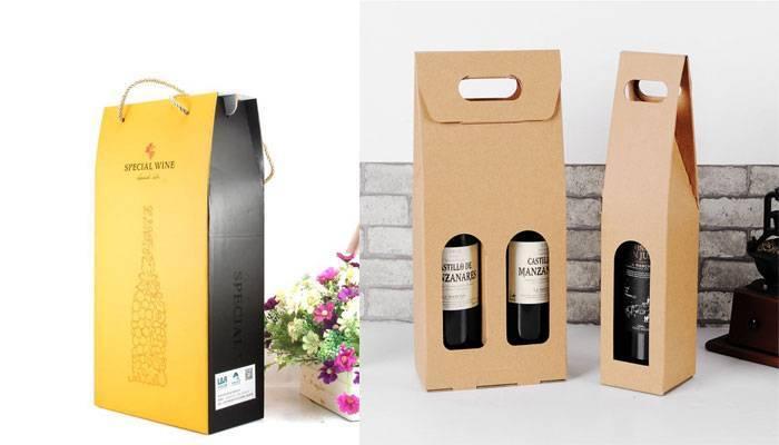 Túi giấy đựng rượu là phụ kiện không thể thiếu khi vận chuyển