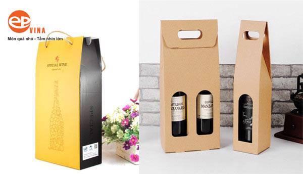 Túi rượu vang giấy
