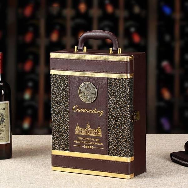 Hộp rượu vang Outstanding
