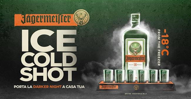 Pha chế Jagermeister ICE Cold Shot