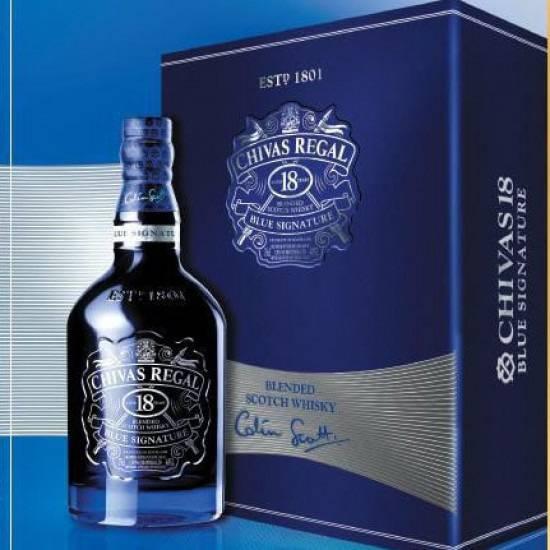 Rượu Chivas 18 Blue Signature