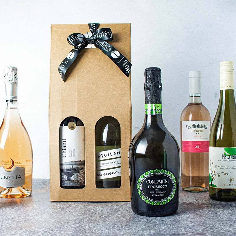 Hộp quà rượu vang Ý