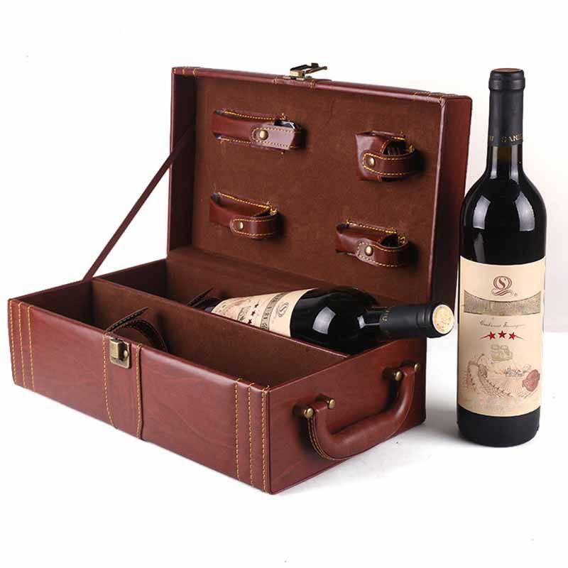 Mẫu hộp quà rượu vang