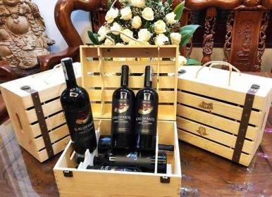 Hộp quà rượu nâng tầm món quà