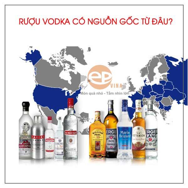 Nguồn gốc rượu Vodka