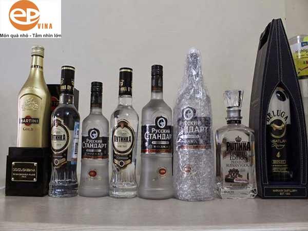 Phân loại rượu Vodka