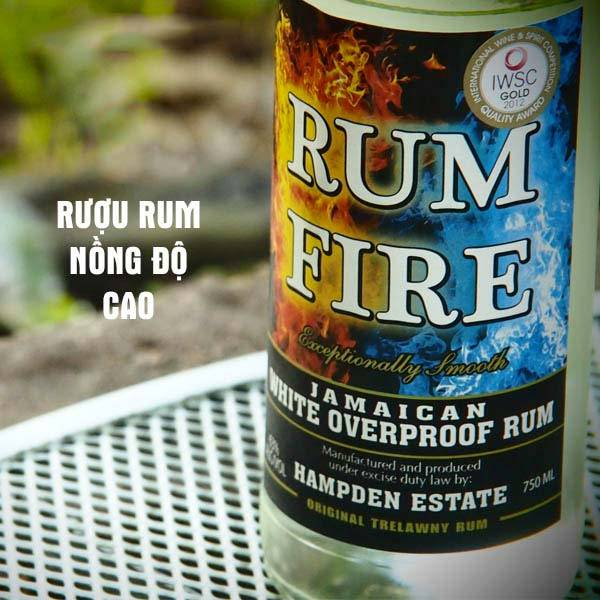 Rượu Rum nồng độ cao