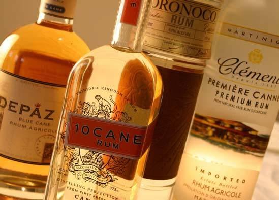 Rượu Rum Vàng