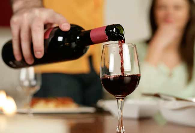 Rượu vang tốt cho sức khỏe người sử dụng