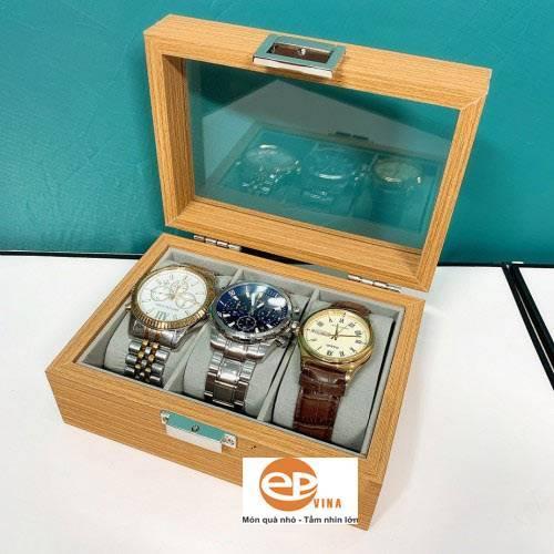 Hộp gỗ đựng đồng hồ