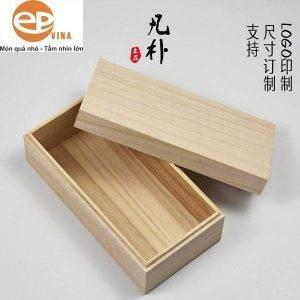 Hộp gỗ hình chữ nhật