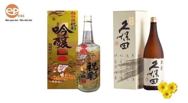 Hộp quà rượu Sake