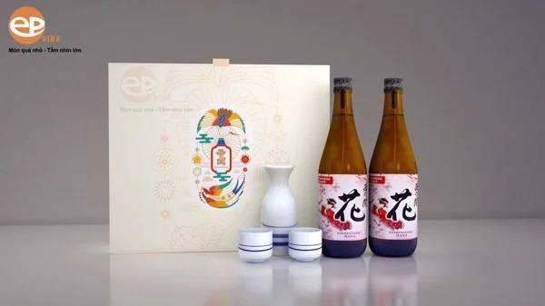 Hộp rượu Sake 720ml