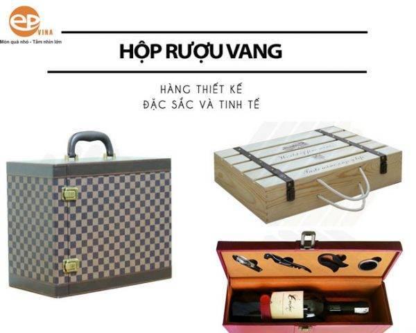 Mẫu IBC hộp rượu vang