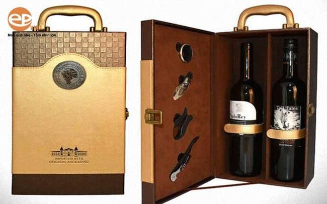 Phương pháp in hộp đựng rượu vang của EPVINA