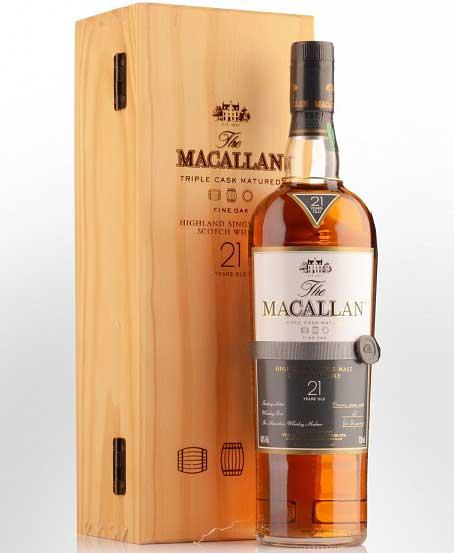 Rượu macallan hộp gỗ