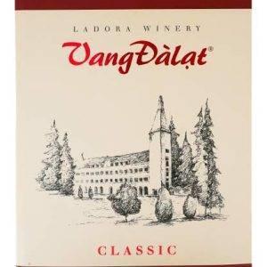 Rượu vang đà lạt hộp 3 lít