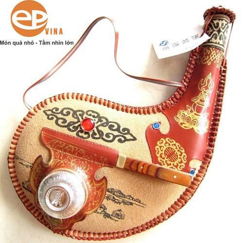 Túi đựng rượu Mông Cổ