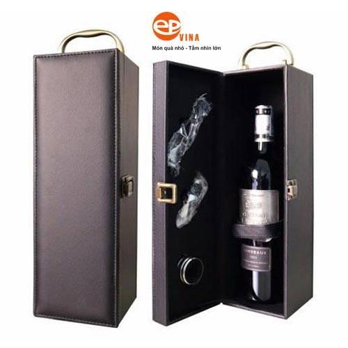 Công dụng của hộp đựng rượu vang đơn