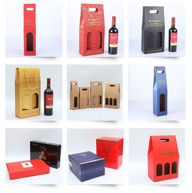 Mẫu hộp rượu đẹp
